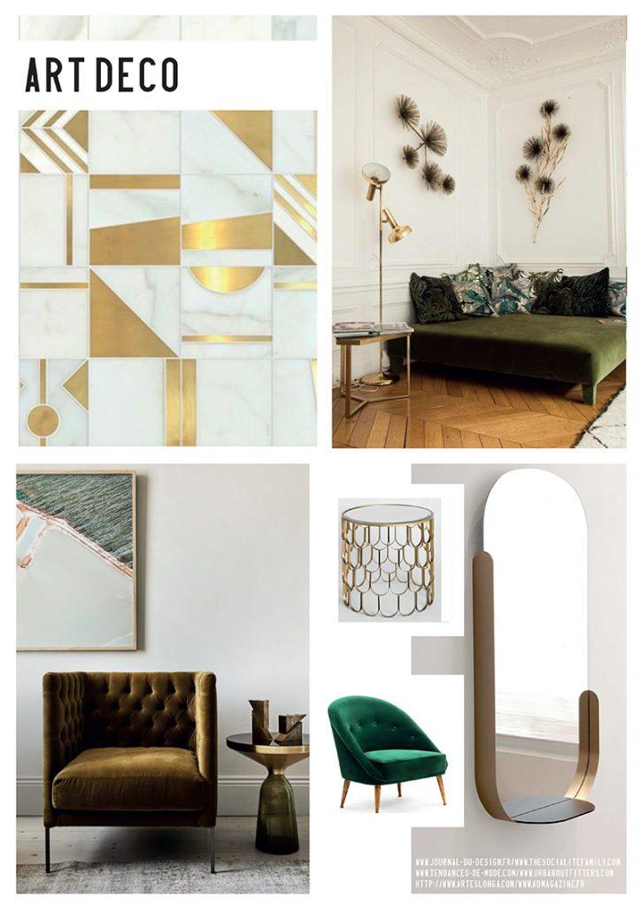 tendance de la semaine le style art d co catteau. Black Bedroom Furniture Sets. Home Design Ideas