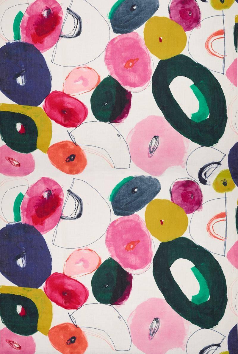 Papier Peint Pierre Frey papier peint « heather multicolore » - catteau